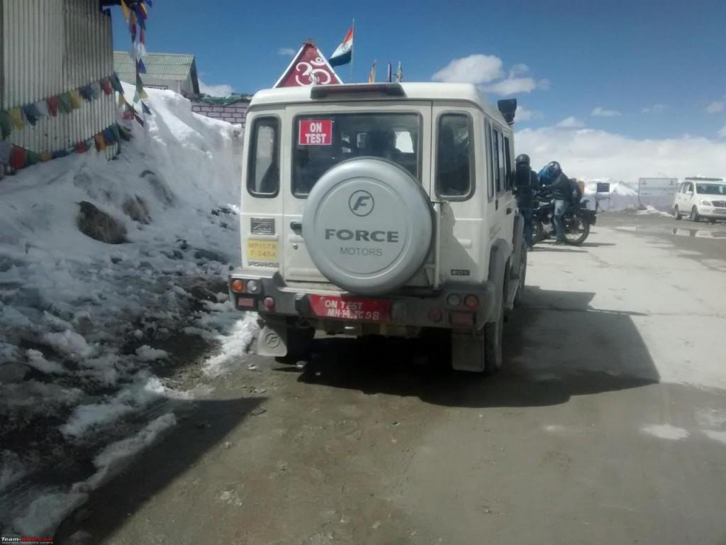 Force Gurkha BS-IV spied