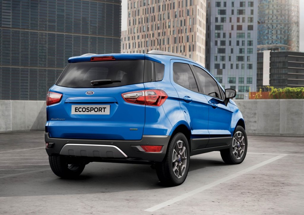 Ford EcoSport UK Launch