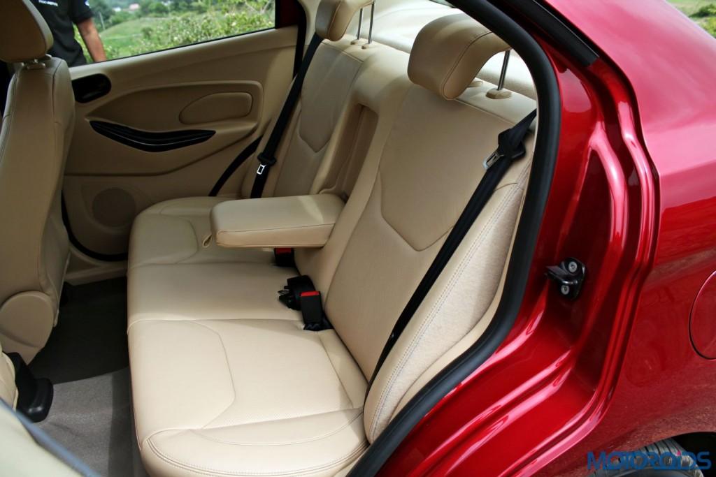 Ford Figo Aspire Rear Seat