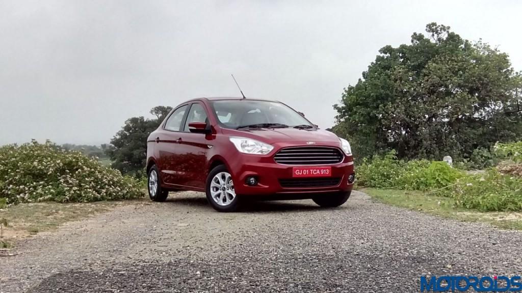 Ford Figo Aspire front quarter