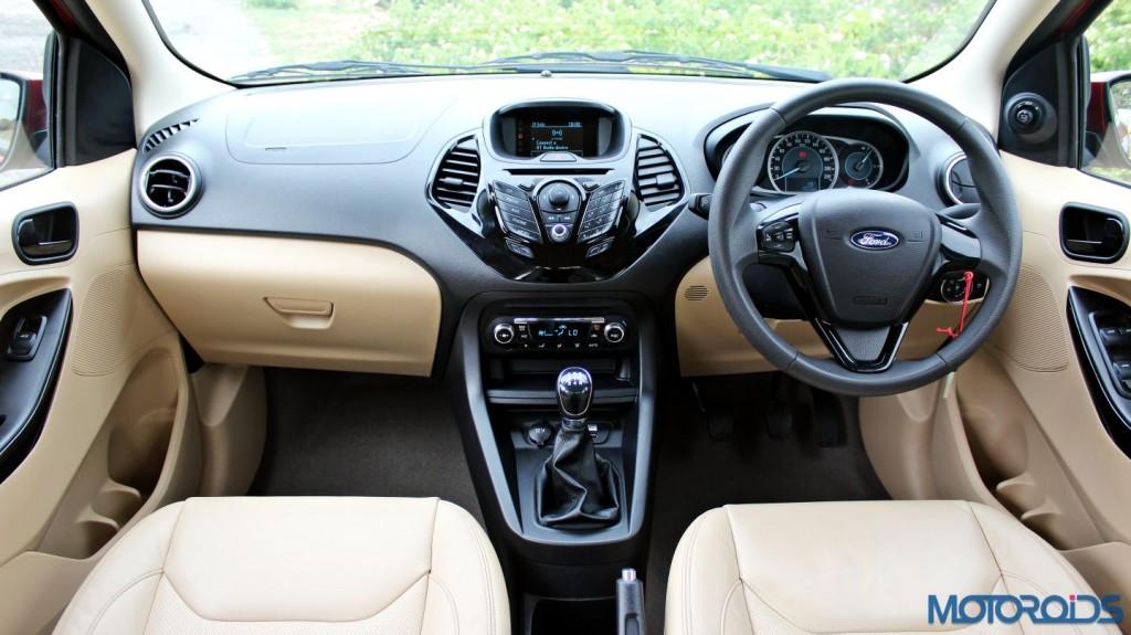 Ford Figo Aspire interior (2)