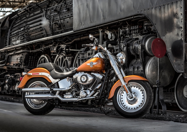 Harley-Davidson Celebrates 25 years of the Iconic Fat Boy (3)