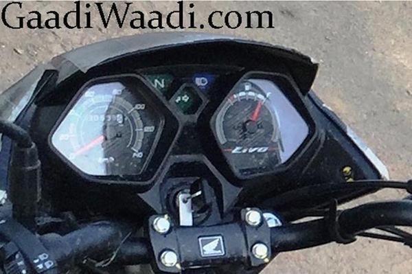 Honda Livo instruments spied
