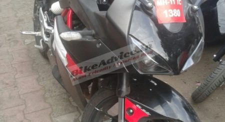 Hyosung-GD250R-sportsbike-spied-in-India