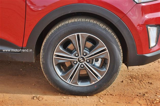 Hyundai Creta 17-inch wheel