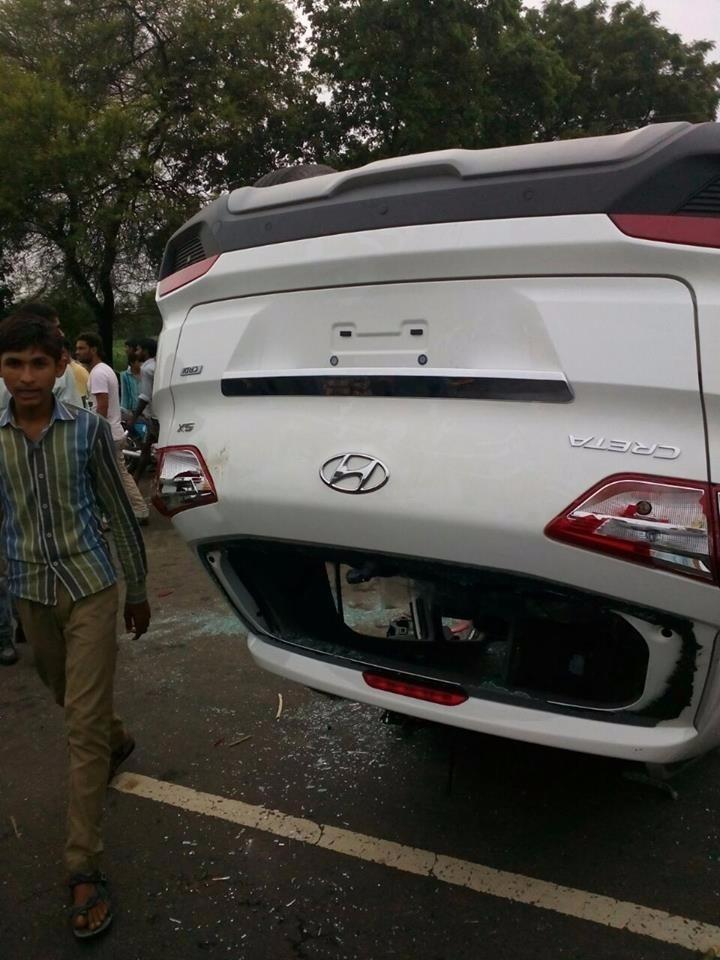 Hyundai Creta 2nd Accident - 1