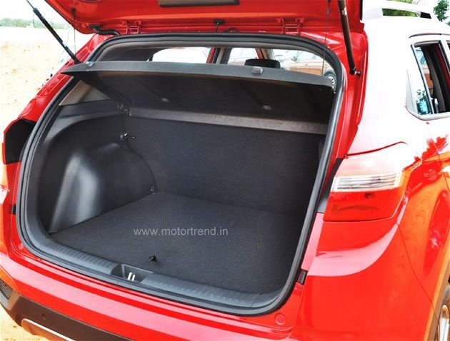 Hyundai Creta Boot Space