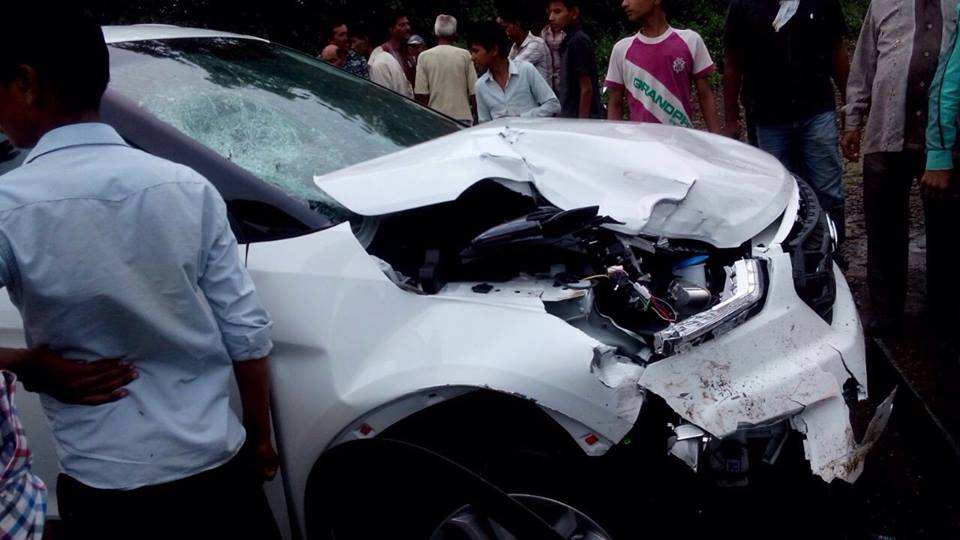Hyundai Creta Crashed - 1