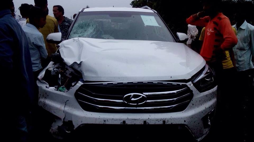 Hyundai Creta Crashed - 2