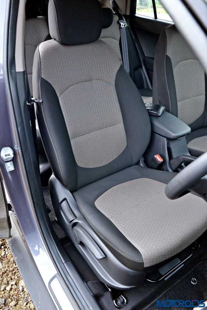 Hyundai Creta Front Seat