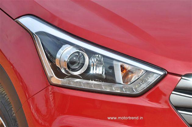 Hyundai Creta Headlamp