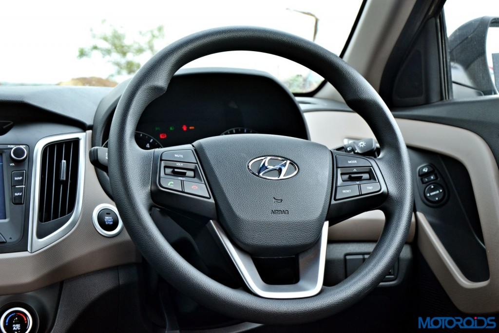 Hyundai Creta Steering Wheel (2)