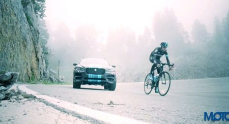 VIDEO: Jaguar F-Pace prototype partly revealed, will lead Team Sky at the Tour De France