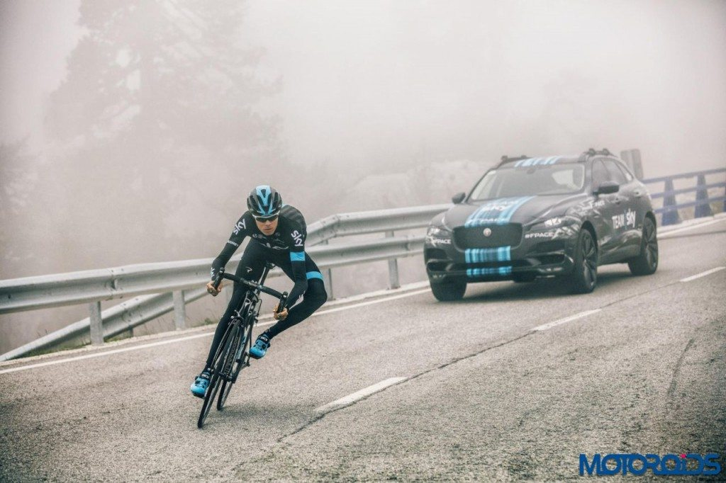 Jaguar F-Pace - Tour de France - 4