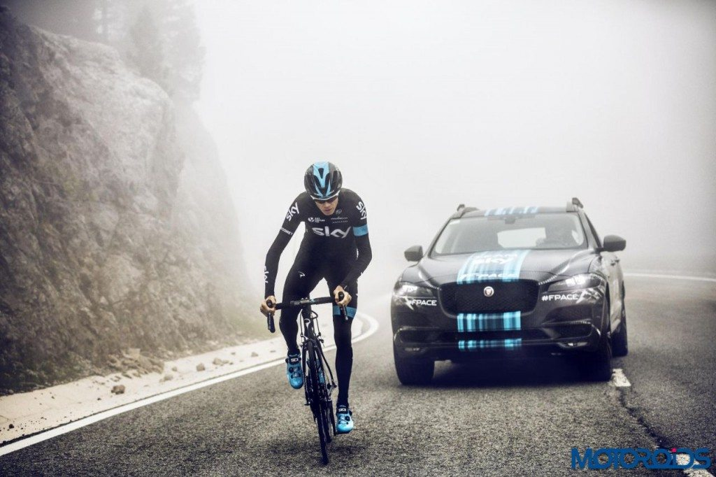 Jaguar F-Pace - Tour de France - 5