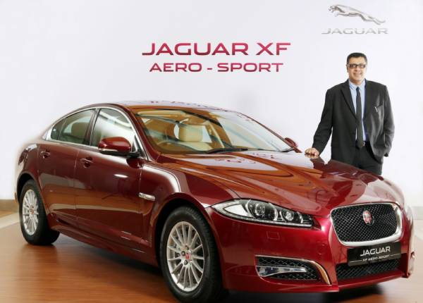 Jaguar-XF-Aero-sport-Mr.-Rohit-Suri-President-Jaguar-Land-Rover-India