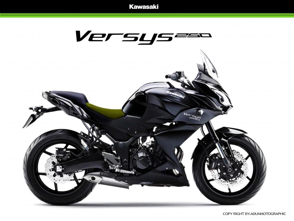 Kawasaki Versys 250 Render