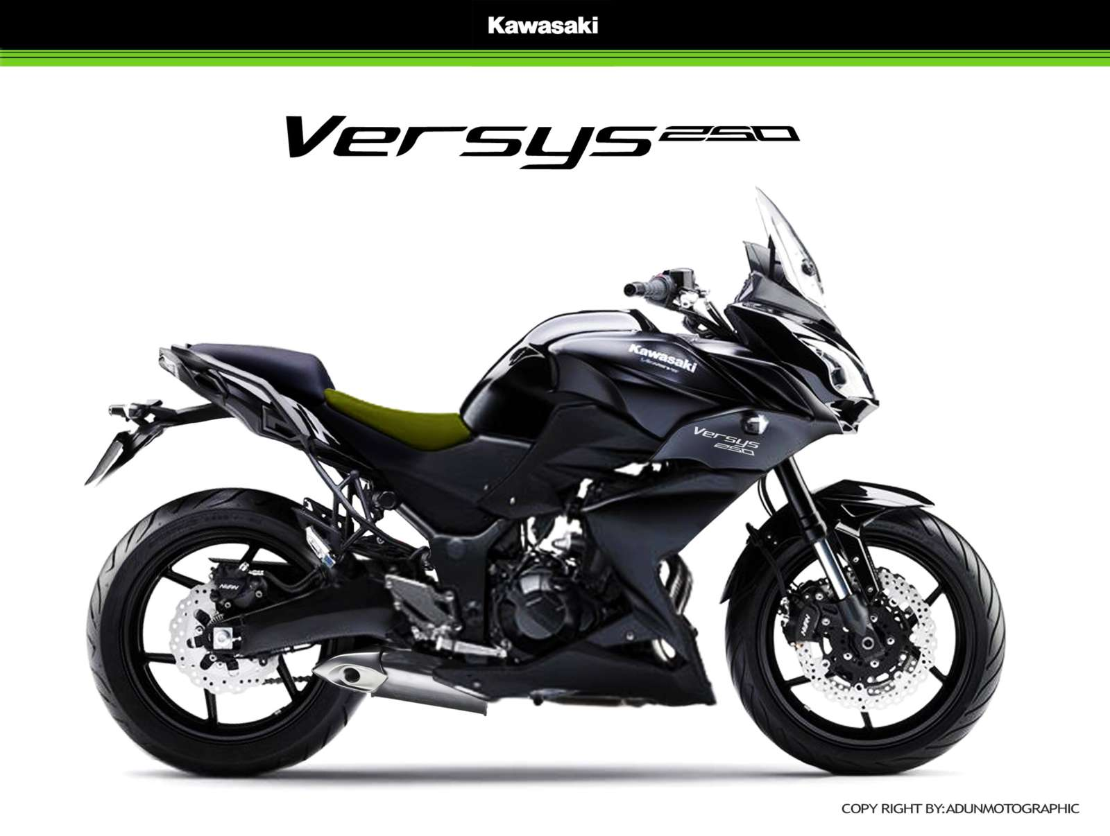 Kawasaki Versys 250 Under Development To Compete With The