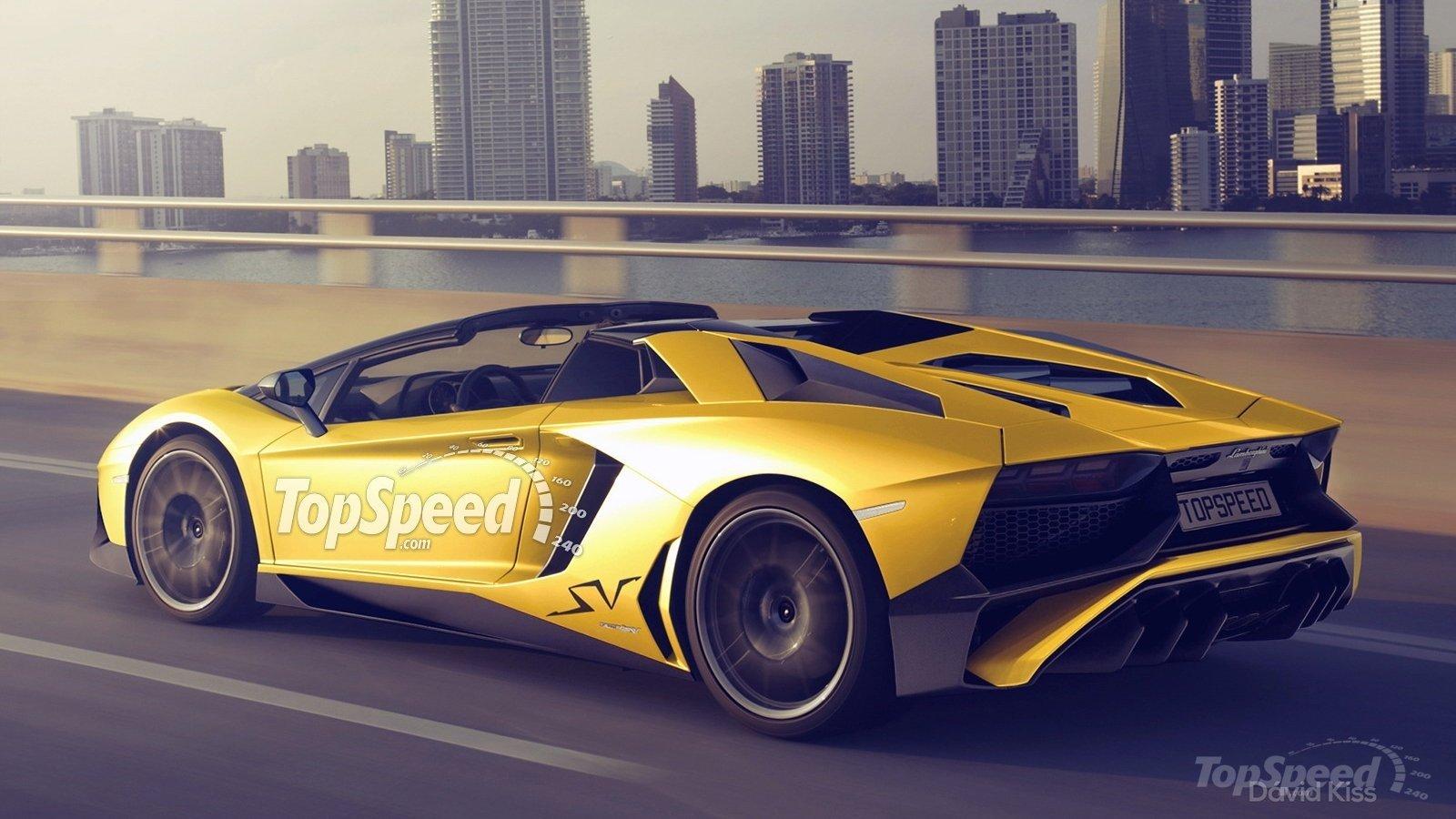 Lamborghini Confirms Aventador Sv Roadster Motoroids