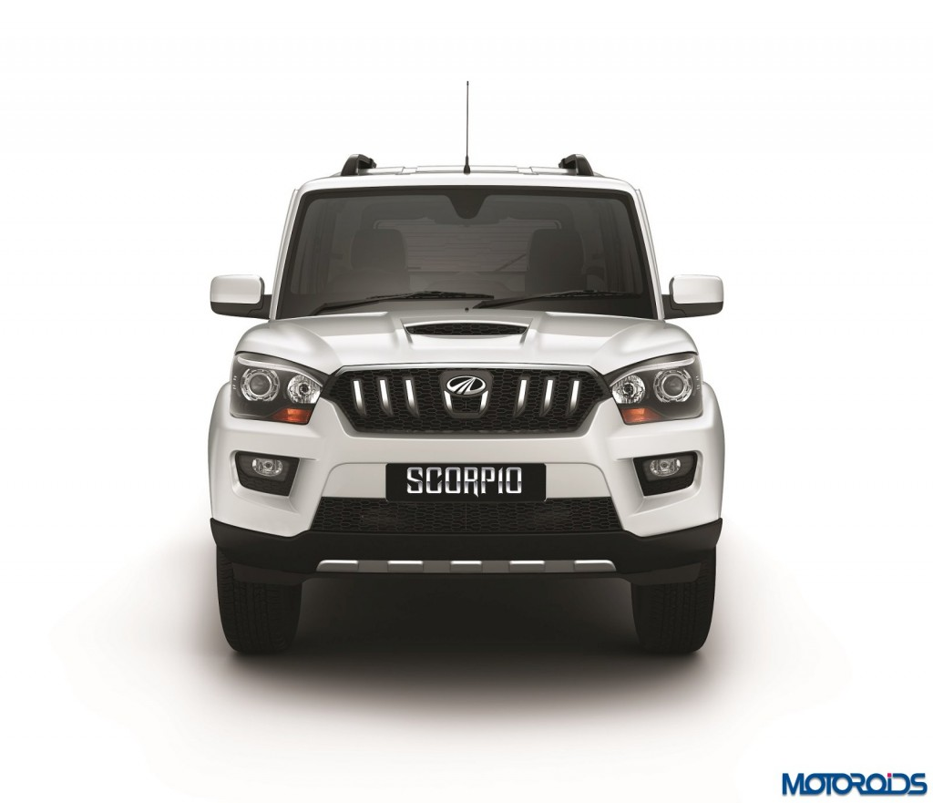 Mahindra Scorpio automatic AT front