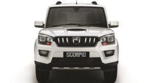 Mahindra Scorpio automatic AT front