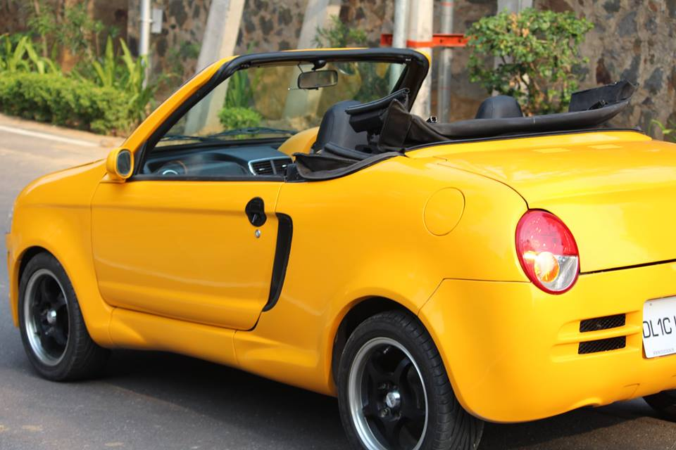 The Maruti 800 Convertible By Js Designs Just Got A