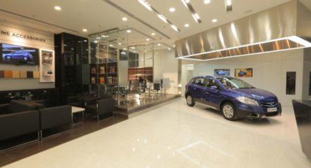 Maruti Suzuki NEXA showroom interior (1)