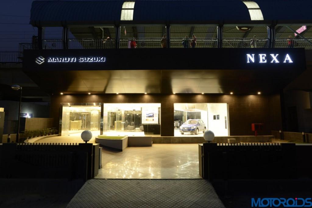 Maruti Suzuki NEXA showroom interior (3)