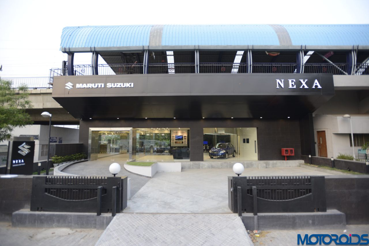 maruti suzuki nexa showrooms launched in india here 39 s all you need to know motoroids. Black Bedroom Furniture Sets. Home Design Ideas