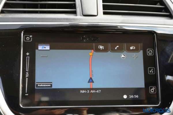 Maruti Suzuki S-Cross Infotainment System (2)