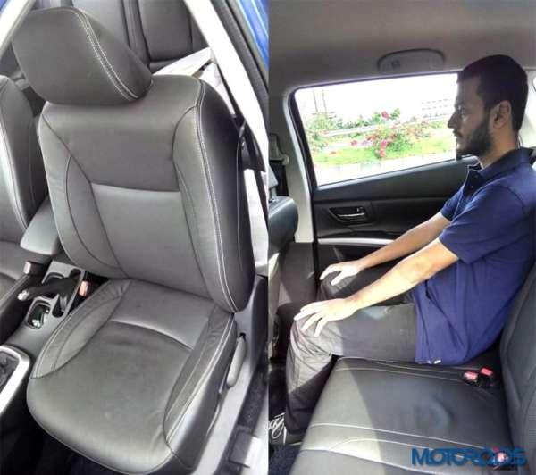 Maruti Suzuki S-Cross Seats