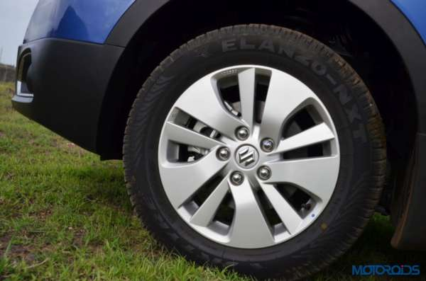 Maruti Suzuki S-Cross Wheel