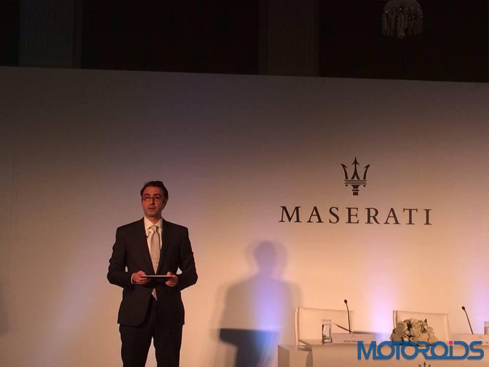 Maserati India Launch