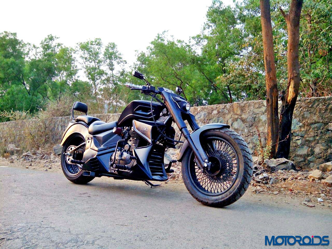 Meet the MiB: A custom built chopper motorcycle from Road Rage