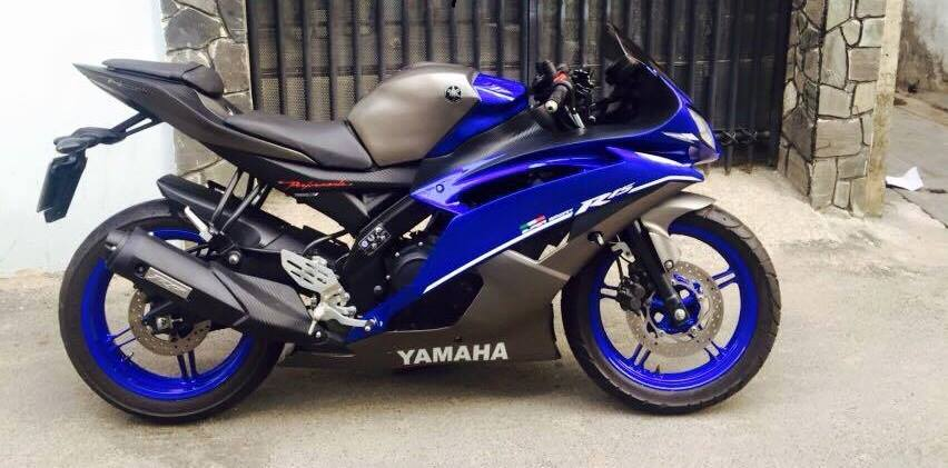 this yamaha yzf r15 v2 0 from vietnam is smartly dressed like a yzf