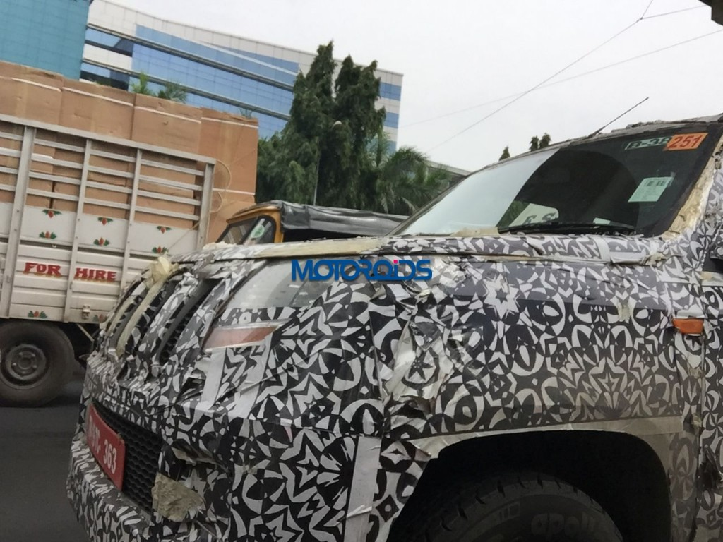 Motoroids Exclusive - Mahindra Supro - Bolero Successor (5)