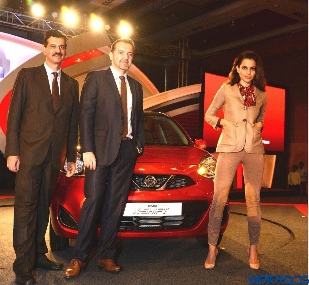 Nissan Micra X-Shift launched