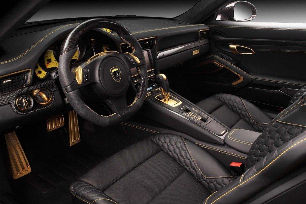 Porsche 991 GTR Carbon Edition by TOPCAR interior (1)