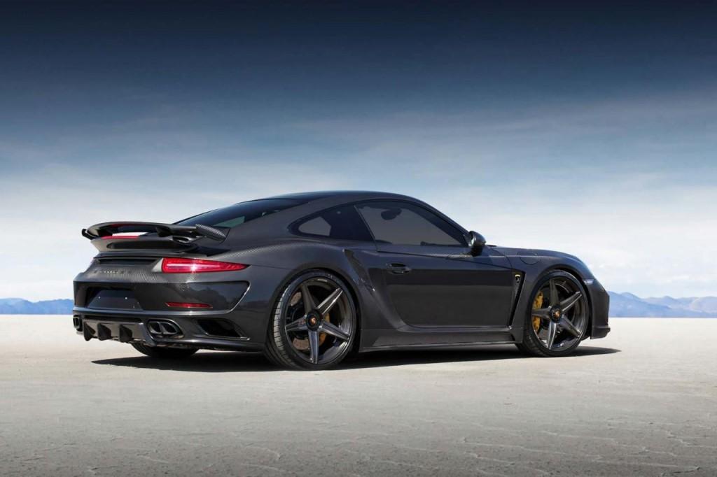 Porsche 991 GTR Carbon Edition by TOPCAR rear side