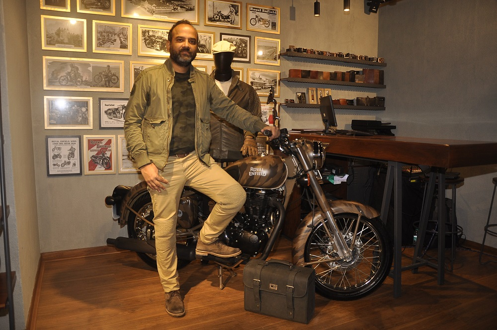 Rudratej Singh - President - Royal Enfield at Linking Road Store (2)