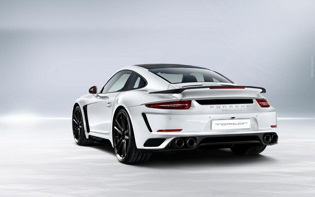 TopCar Porsche 911 Turbo Stinger GTR rear
