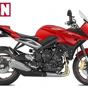 Is the rumoured Triumph Street Triple based tourer riding out soon?