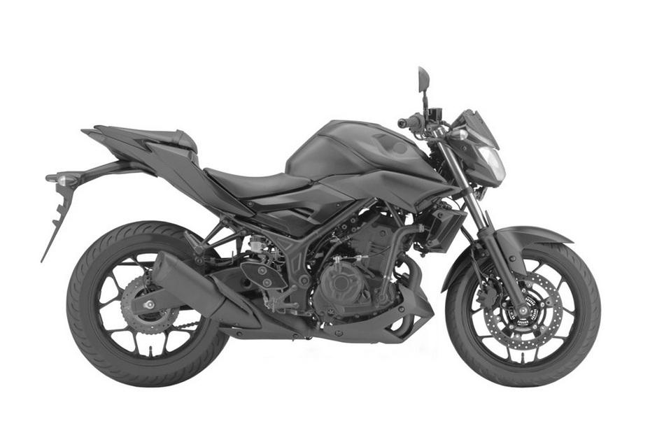 Yamaha MT-03 Leaked Patents - 3