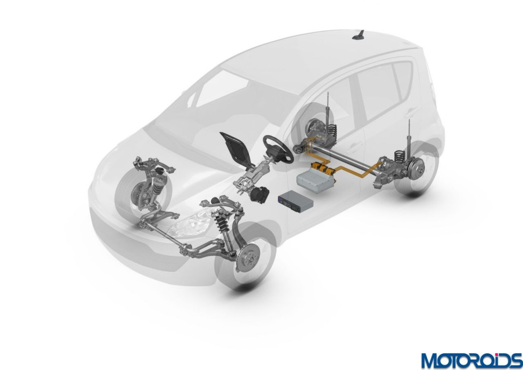 ZF Smart Urban Vehicle drivetrain