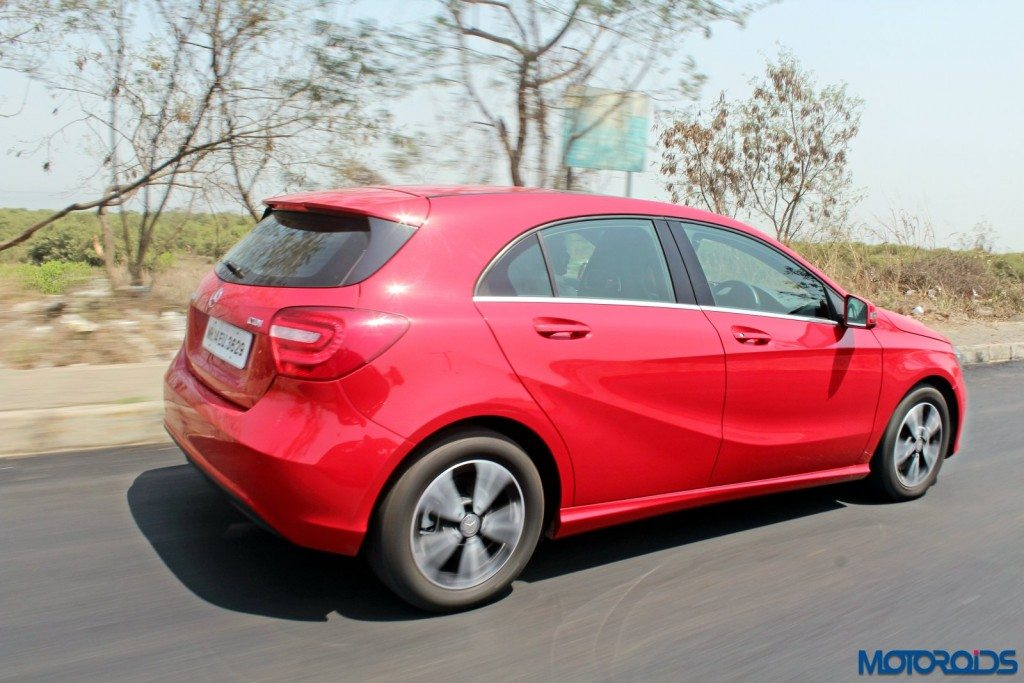 new 2015 A200 CDI Sport action rear (5)
