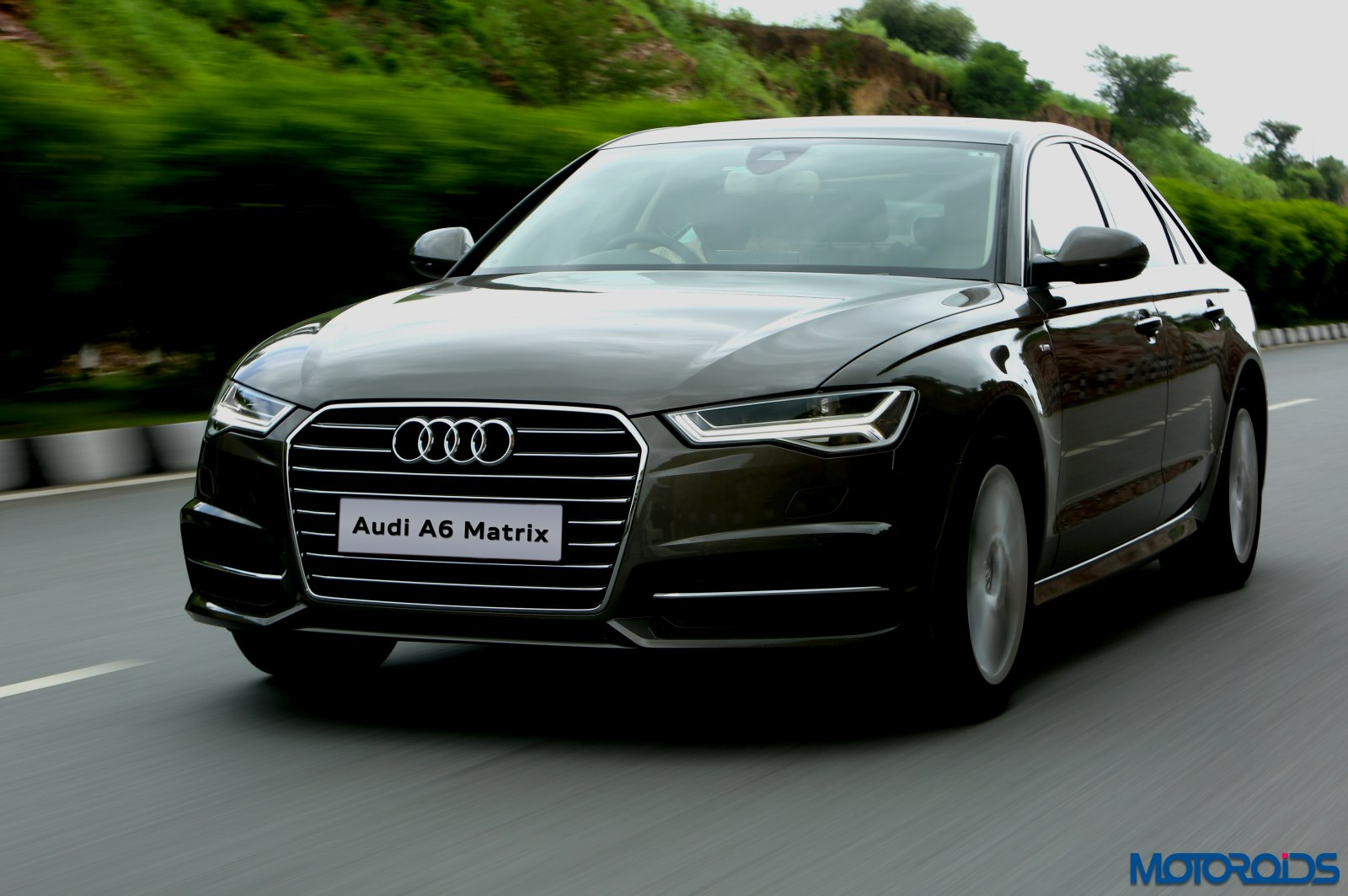 2015 audi a6 matrix facelift india review 2. Black Bedroom Furniture Sets. Home Design Ideas