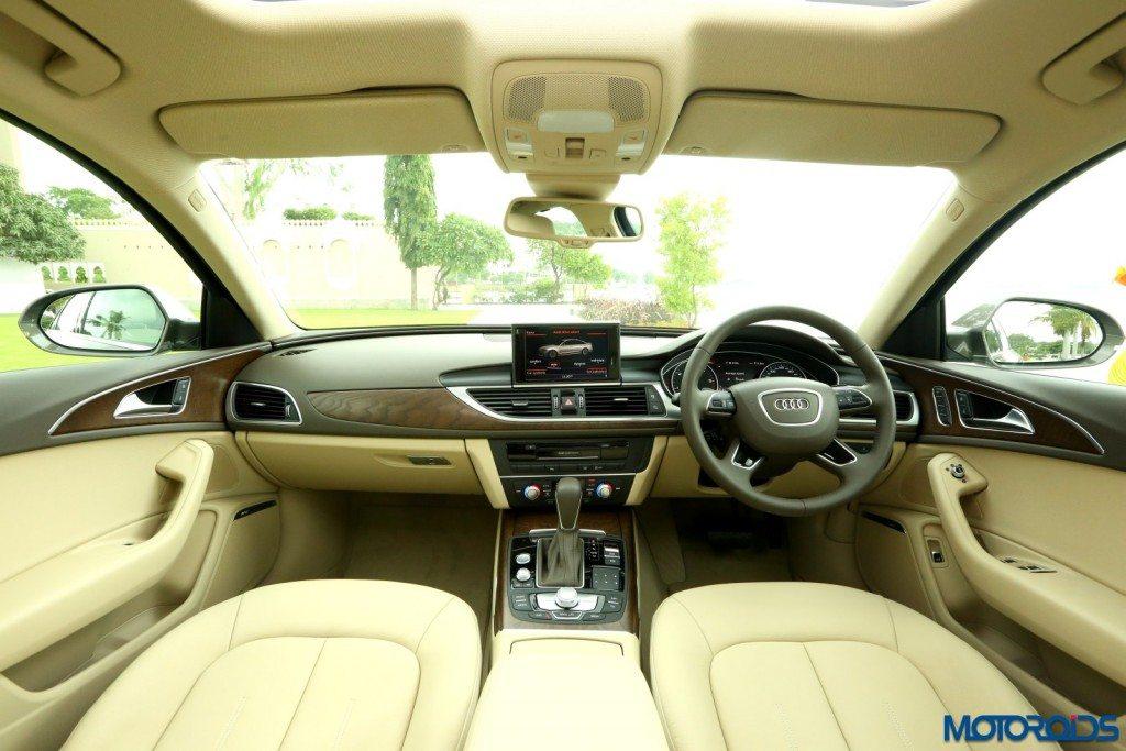 2015 Audi A6 Matrix facelift cabin