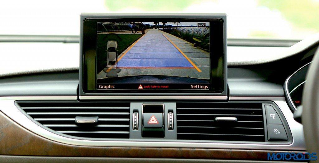 2015 Audi A6 Matrix facelift central screen (2)