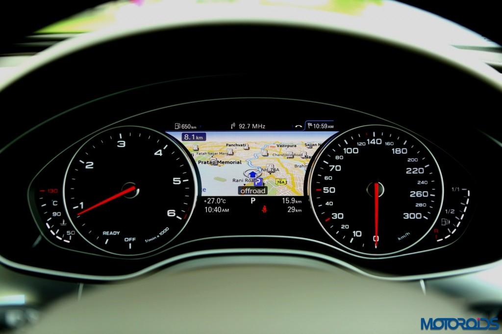 2015 Audi A6 Matrix facelift instrumentation
