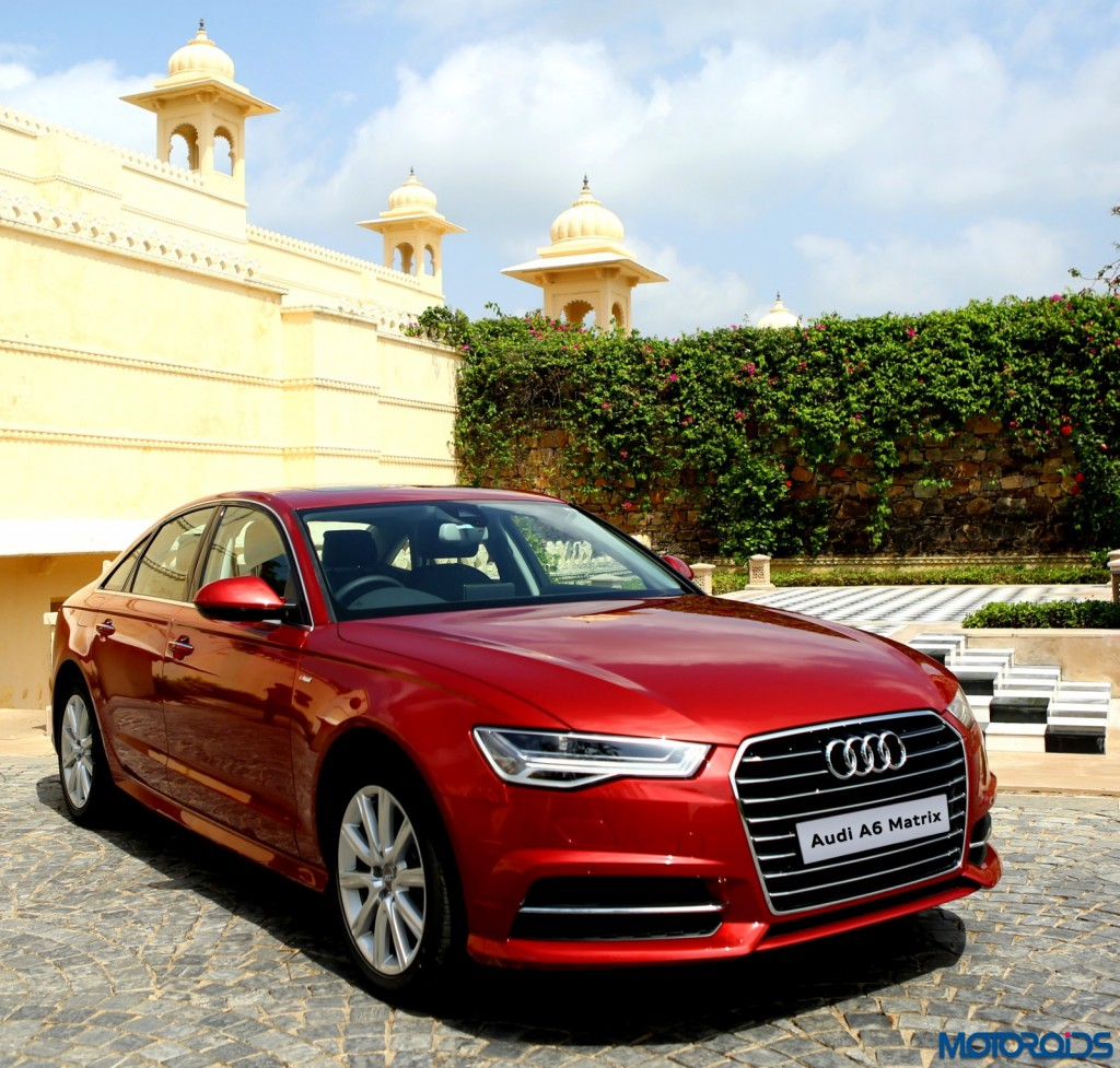 2015 audi a6 matrix 35tdi facelift review the blue pill motoroids. Black Bedroom Furniture Sets. Home Design Ideas